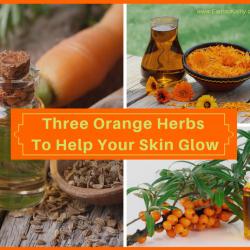 3 Orange Herbs to Help Your Skin Glow!