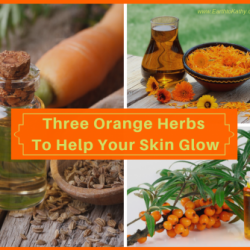 3 Orange Herbs to Help Your Skin Glow!