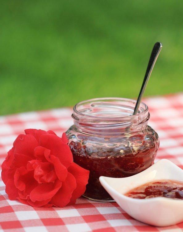 Rose Petal Jam Recipe