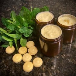 Achy Cocoa-Menthol Muscle Rub Recipe