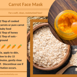Easy Carrot Face Mask Recipe