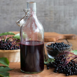 Elderberry Cold & Flu Syrup Recipe