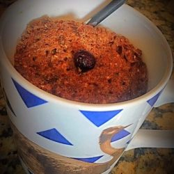 Easy Microwave-In-Your-Mug Flaxseed Muffin Recipe
