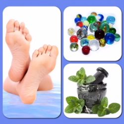 Cool Peppermint Foot Bath
