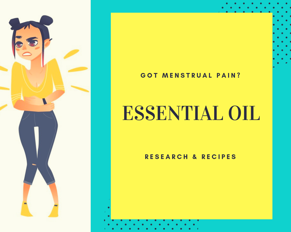 essential oils and menstrual pain
