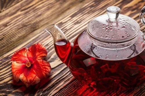 Fresh Flower Tea