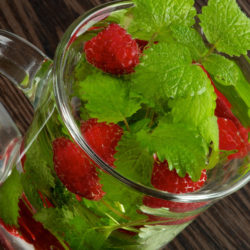 Lemon Balm & Raspberry Chillaxing Slushy