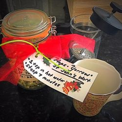 Easy Loose Herb Tea Gift Idea