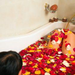Home Herbal Spa Bath Ideas