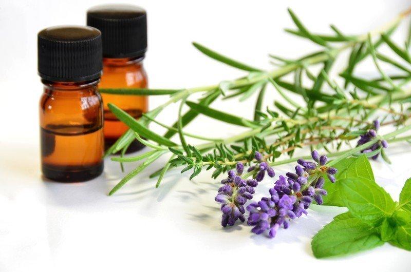 rosemary, peppermint, lavender
